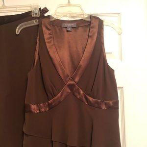 Brown pant and top